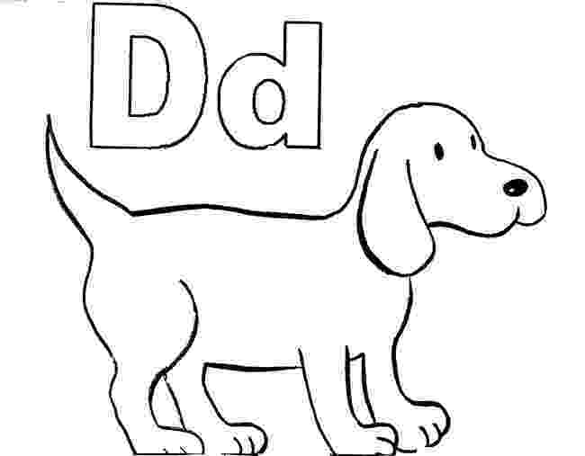 dog coloring pages for preschoolers letter d alphabet adventure for coloring dog preschoolers pages