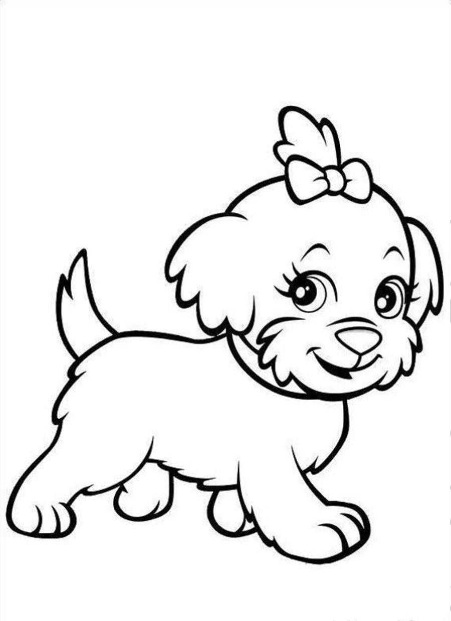 dog coloring pictures printable free printable puppies coloring pages for kids coloring dog pictures printable