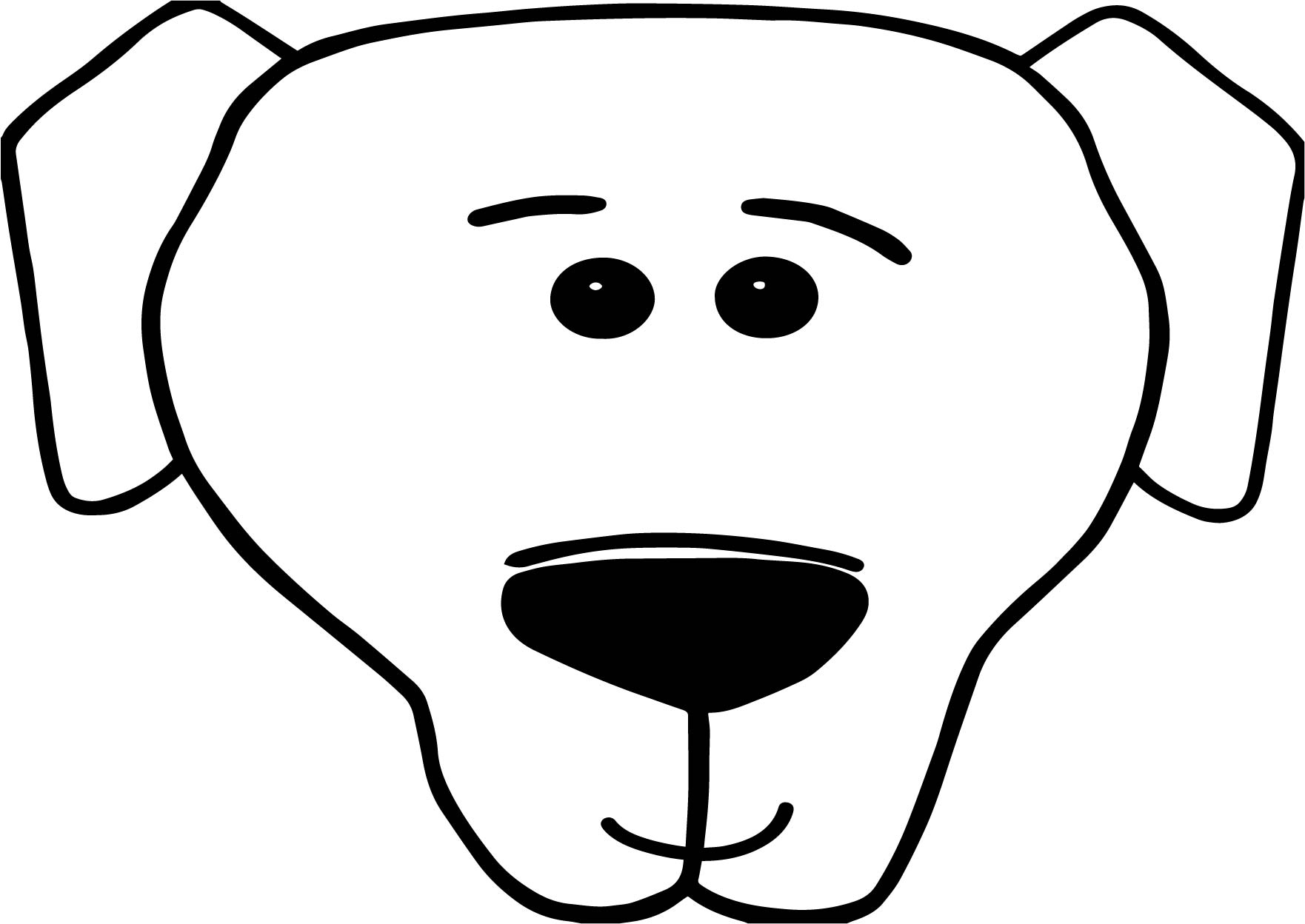 dog face coloring pages bolt dog face coloring pages wecoloringpagecom coloring face pages dog