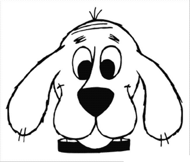 dog face coloring pages dog coloring page goofy dog face pages face coloring dog