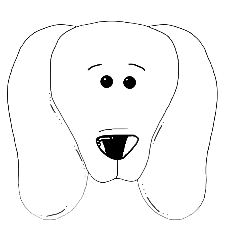 dog face coloring pages dog face coloring page dog pages coloring face