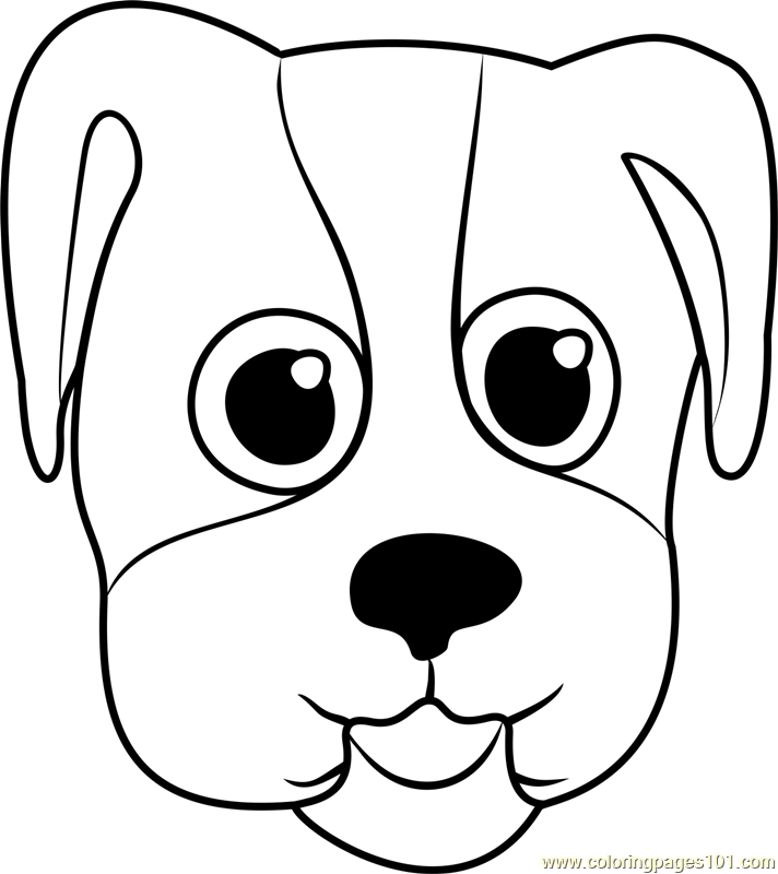 dog face coloring pages dog face coloring page wecoloringpagecom pages face dog coloring
