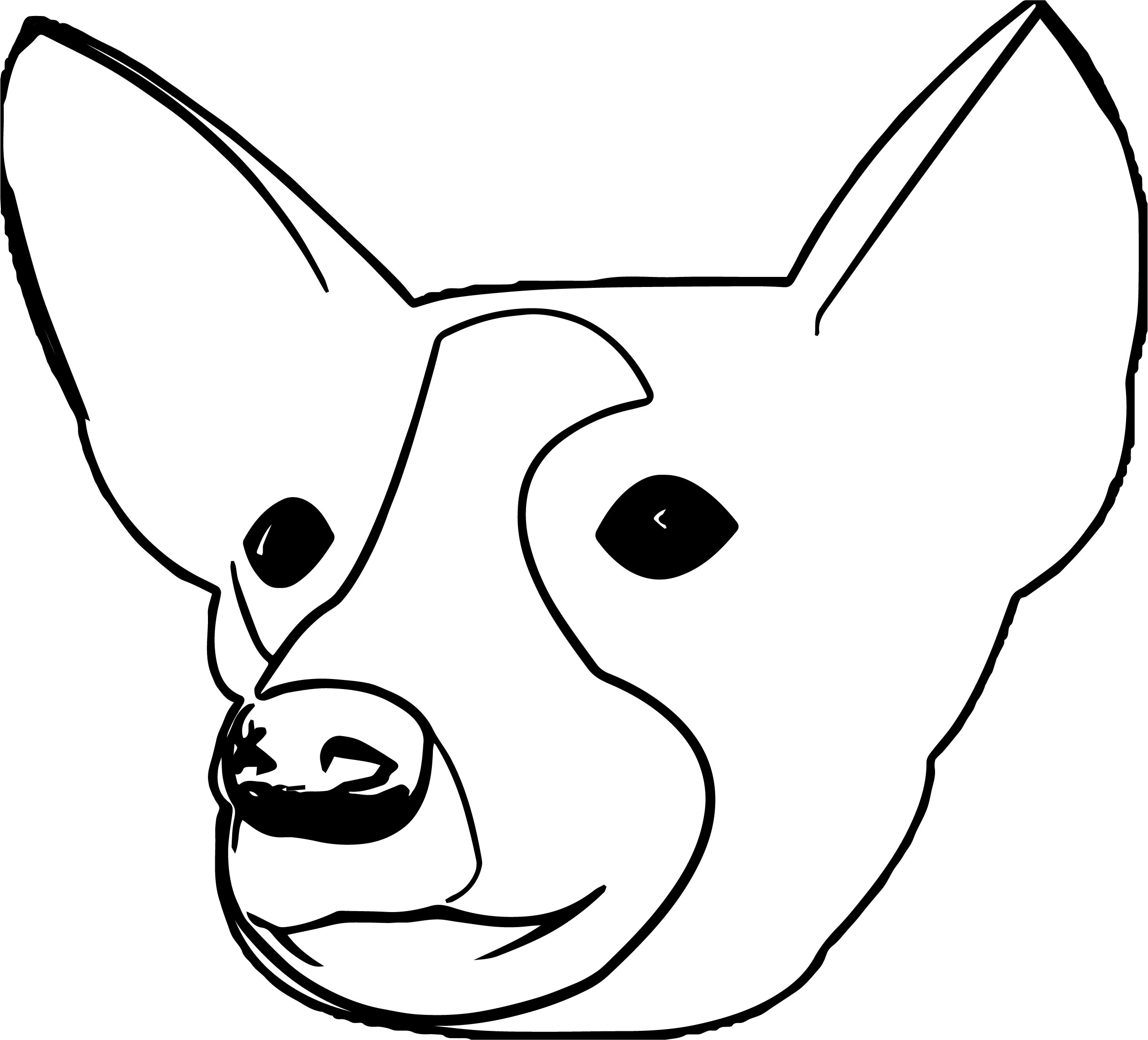 dog face coloring pages little pug sad face coloring page color luna dog pages coloring face