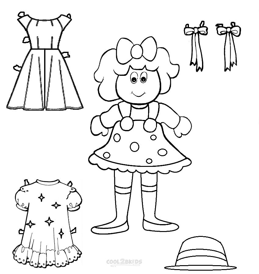 doll coloring page coloring book for children doll stock illustration doll coloring page