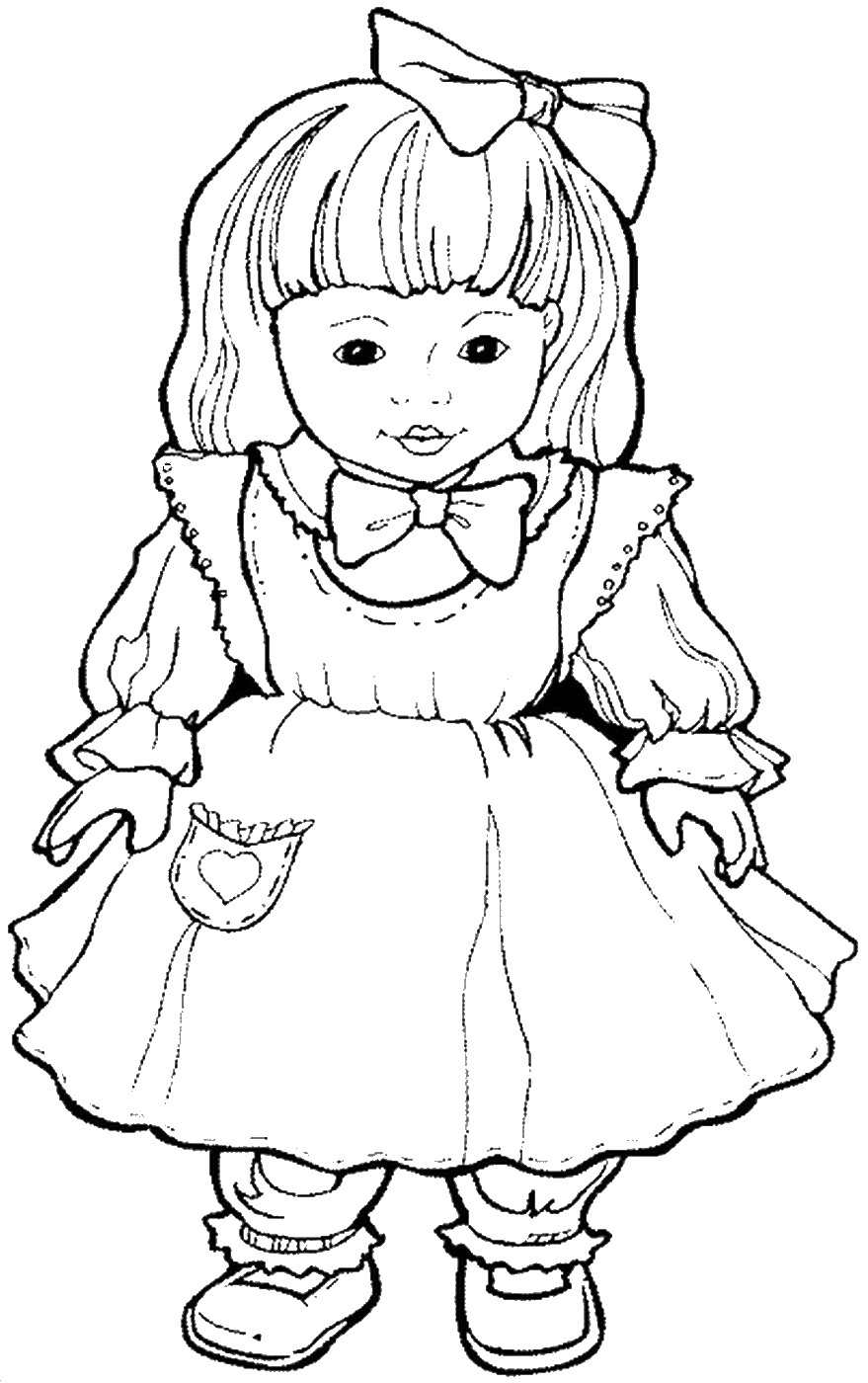 doll coloring page free printable baby doll coloring pages coloring home coloring page doll