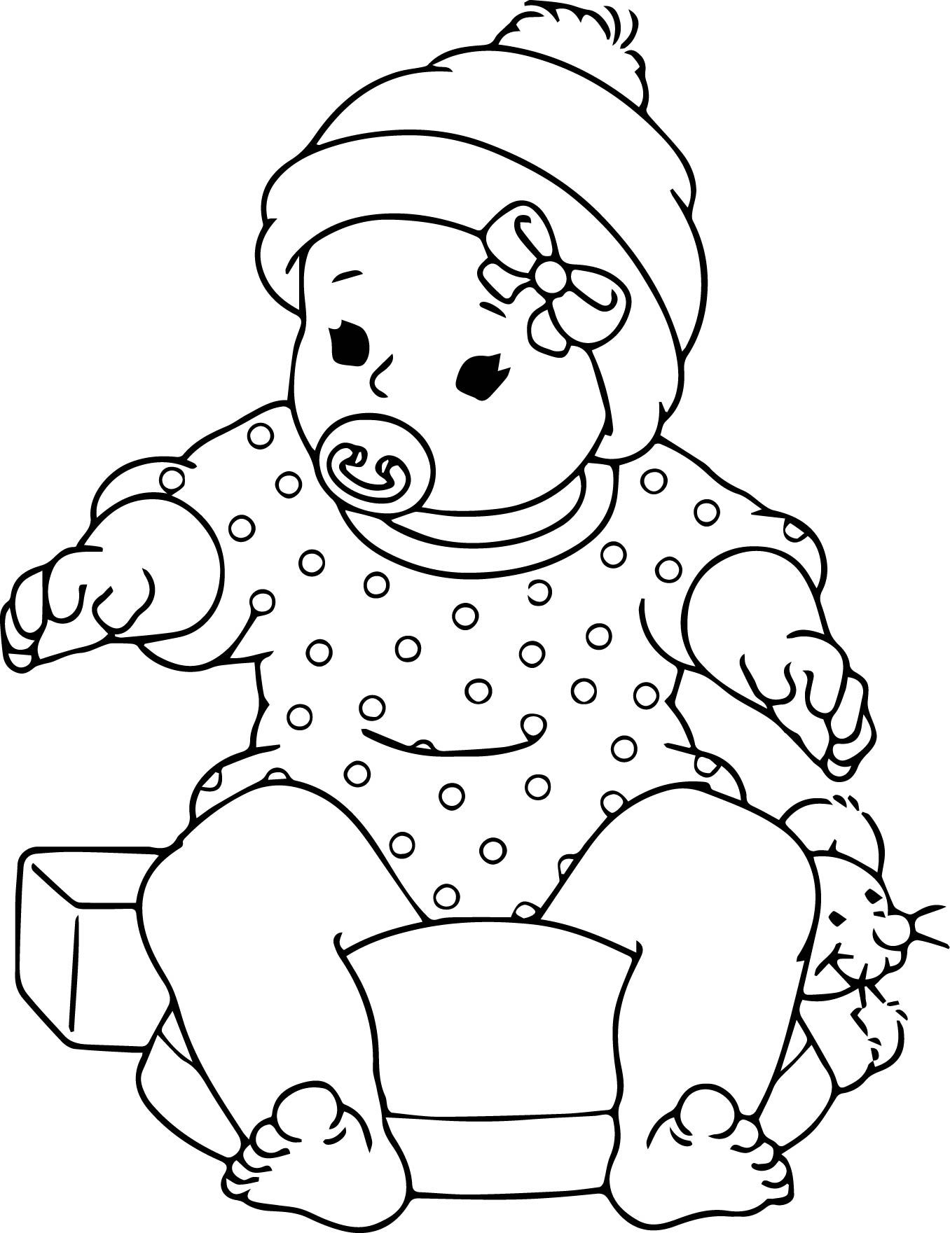 doll coloring page free printable baby doll coloring pages throughout inside page doll coloring