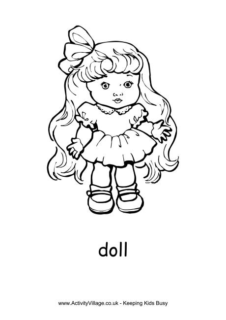 doll coloring page smiling doll toys coloring pages best place to color coloring doll page