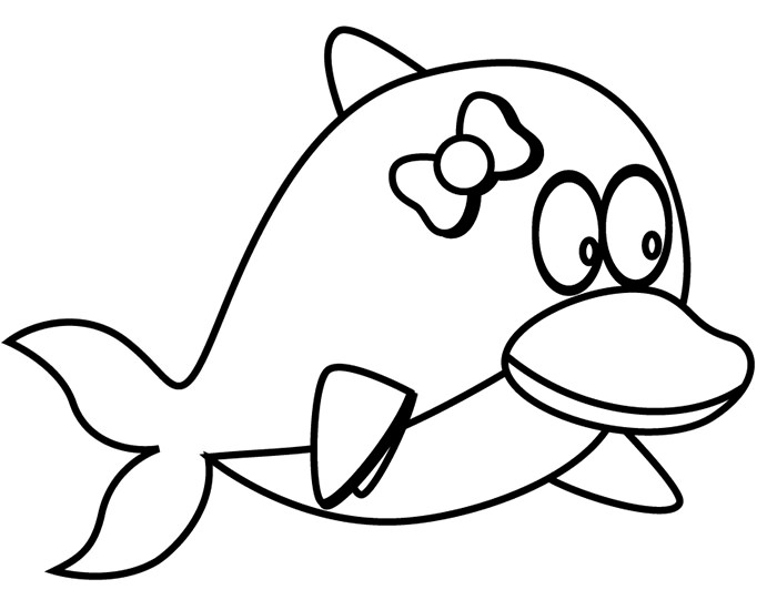 dolphin coloring page dolphin template animal templates free premium templates page dolphin coloring 1 2