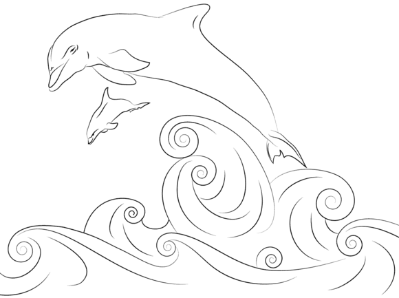 dolphin coloring pages to print out dolphins jumping out of water coloring page dolphin coloring print dolphin pages to out