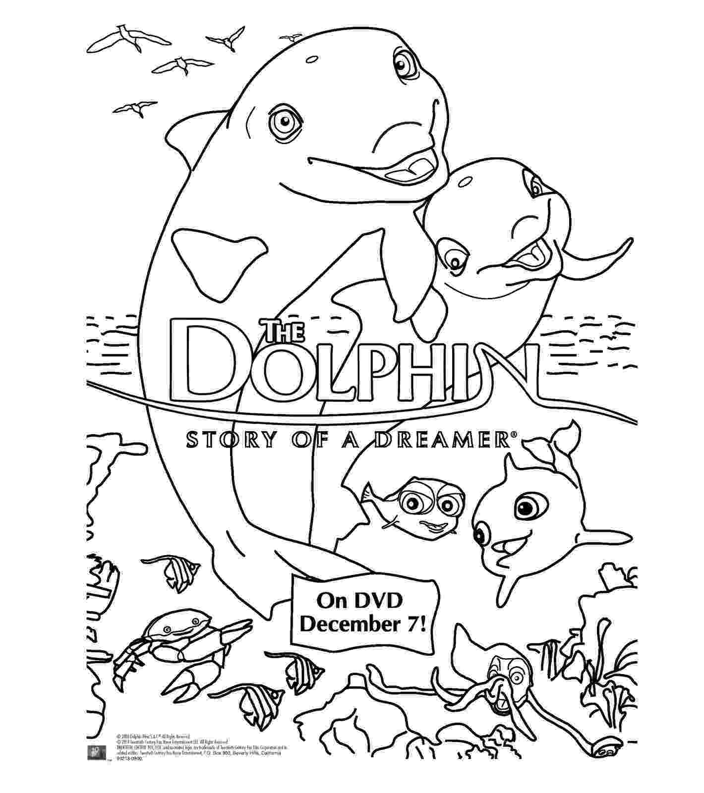 dolphin coloring pages to print out heck of a bunch the dolphin story of a dreamer dvd print dolphin coloring to pages out