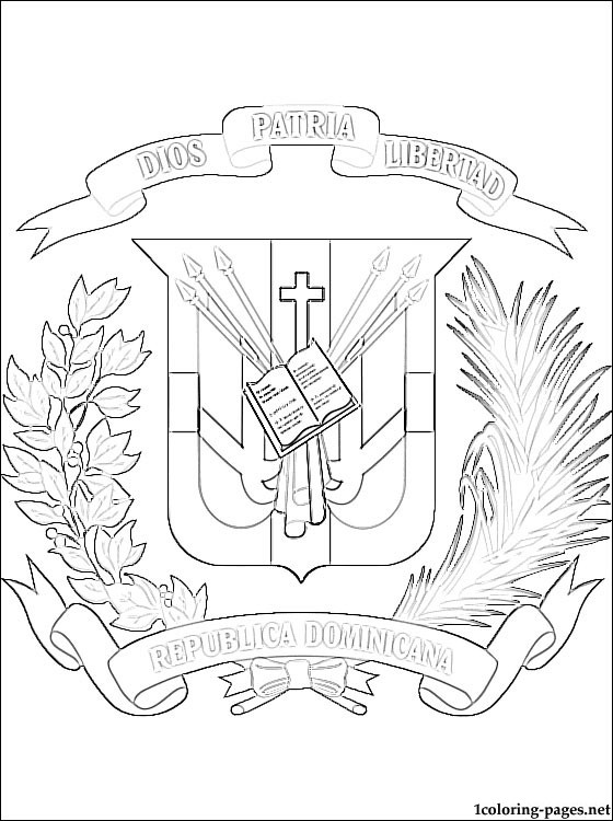 dominican republic flag coloring page coloring page flag dominican republic free printable dominican flag page coloring republic