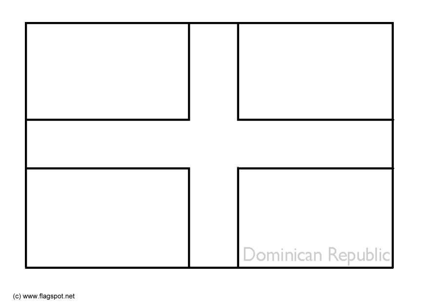 dominican republic flag coloring page dominican republic country coloring dominican republic dominican republic coloring page flag
