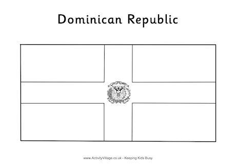 dominican republic flag coloring page dominican republic flag coloring page free printable flag coloring republic page dominican