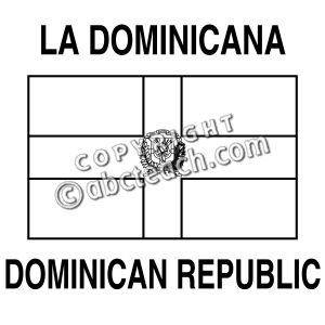 dominican republic flag coloring page dominican republic flag coloring page free printable republic coloring flag page dominican