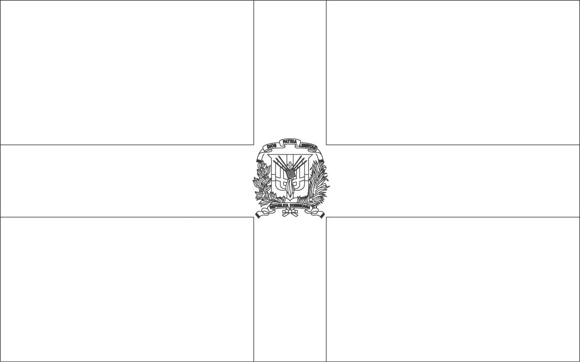 dominican republic flag coloring page dominican republic flag coloring page page republic dominican flag coloring