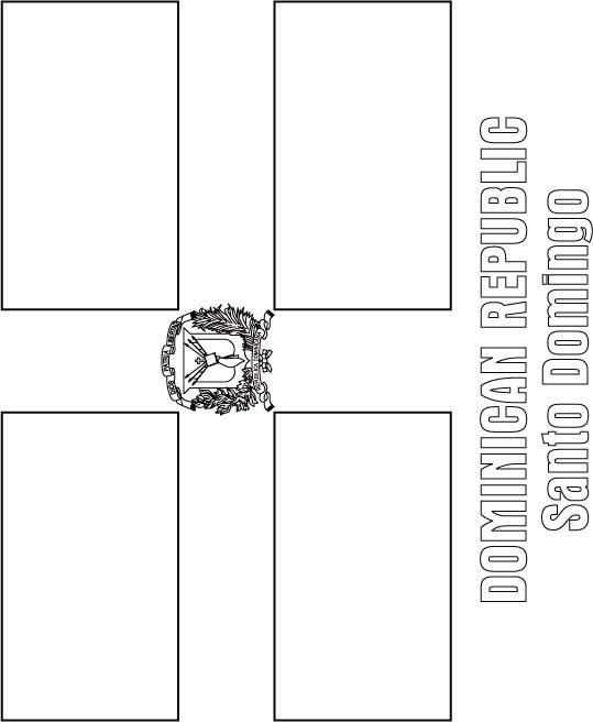 dominican republic flag coloring page image result for dominican republic colour sheet flag dominican page flag coloring republic