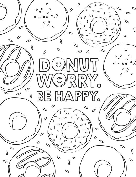 donut coloring page donut coloring pages best coloring pages for kids coloring donut page 1 1