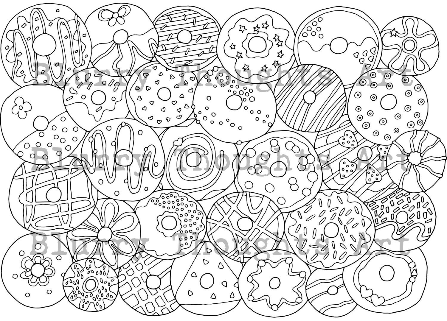 donut coloring page tasty donuts coloring page free printable coloring pages donut page coloring