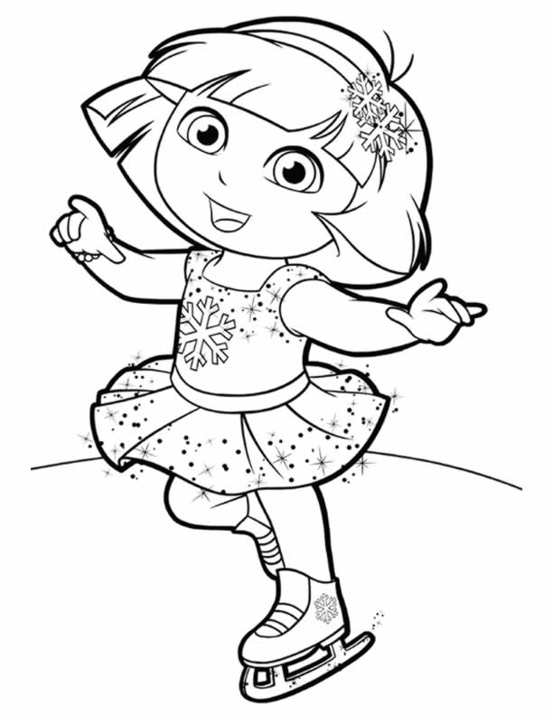 dora coloring sheets free printable dora the explorer coloring pages for kids coloring dora sheets