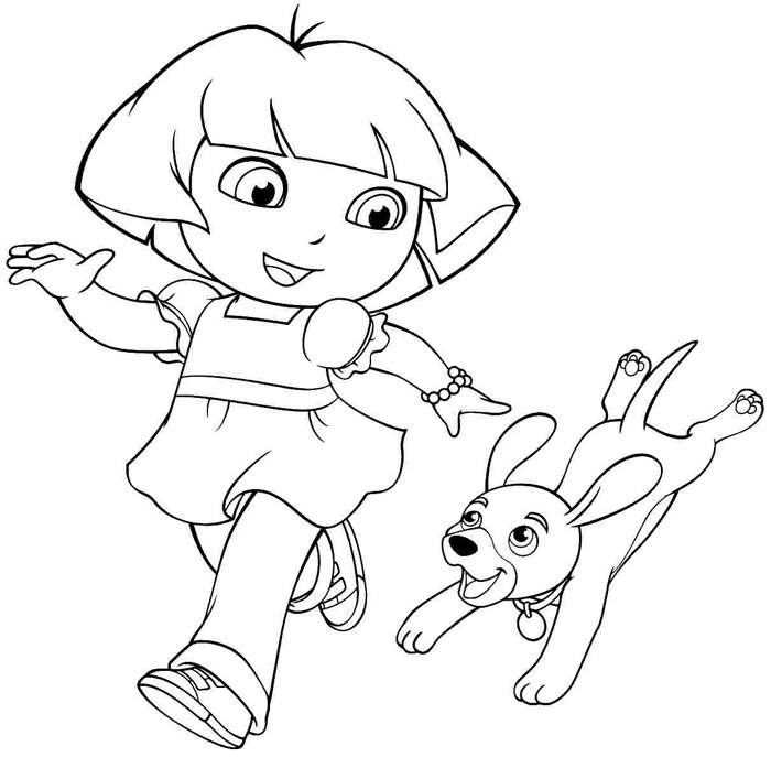 dora printable coloring pages free free printable dora coloring pages for kids cool2bkids dora pages free printable coloring