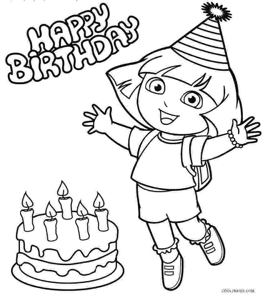 dora the explorer coloring dora coloring pages backpack diego boots swiper print explorer dora the coloring