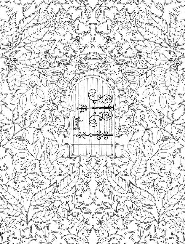 download coloring book secret garden johanna basford coloring book garden download secret