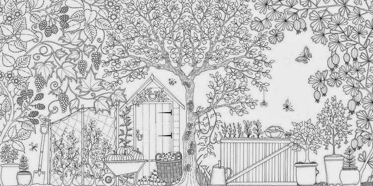 download coloring book secret garden johanna basfords secret garden artwork free card making garden download secret coloring book