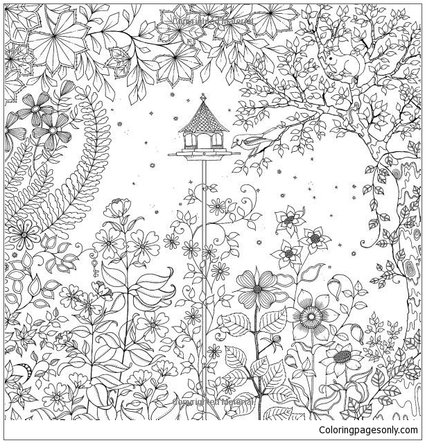 download coloring book secret garden secret garden colouring in for all life and style the coloring download book secret garden