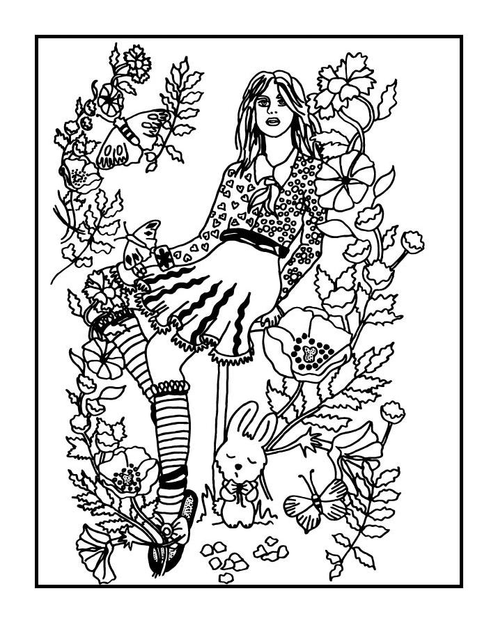 download coloring book secret garden your secret garden coloring book page by fractalbee on download garden coloring book secret