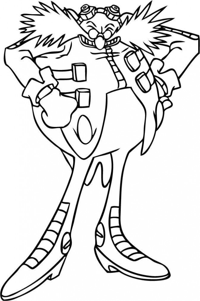 dr eggman coloring pages doctor eggman robotnik coloring page free printable pages eggman dr coloring