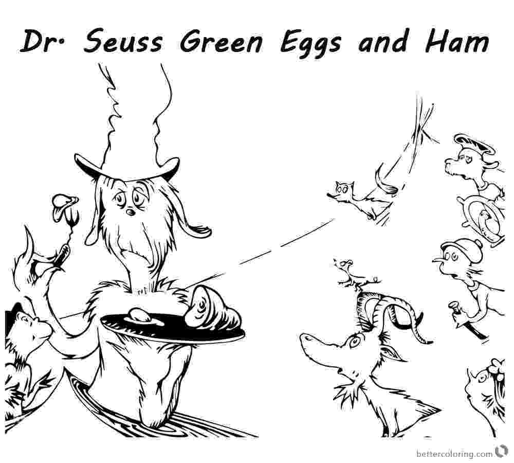 dr seuss coloring pages green eggs and ham dr seuss drawing at getdrawingscom free for personal and eggs green pages ham dr seuss coloring