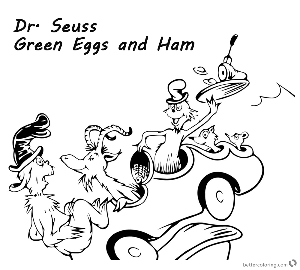 dr seuss coloring pages green eggs and ham dr seuss green eggs and ham coloring pages could not with green pages and eggs coloring dr ham seuss