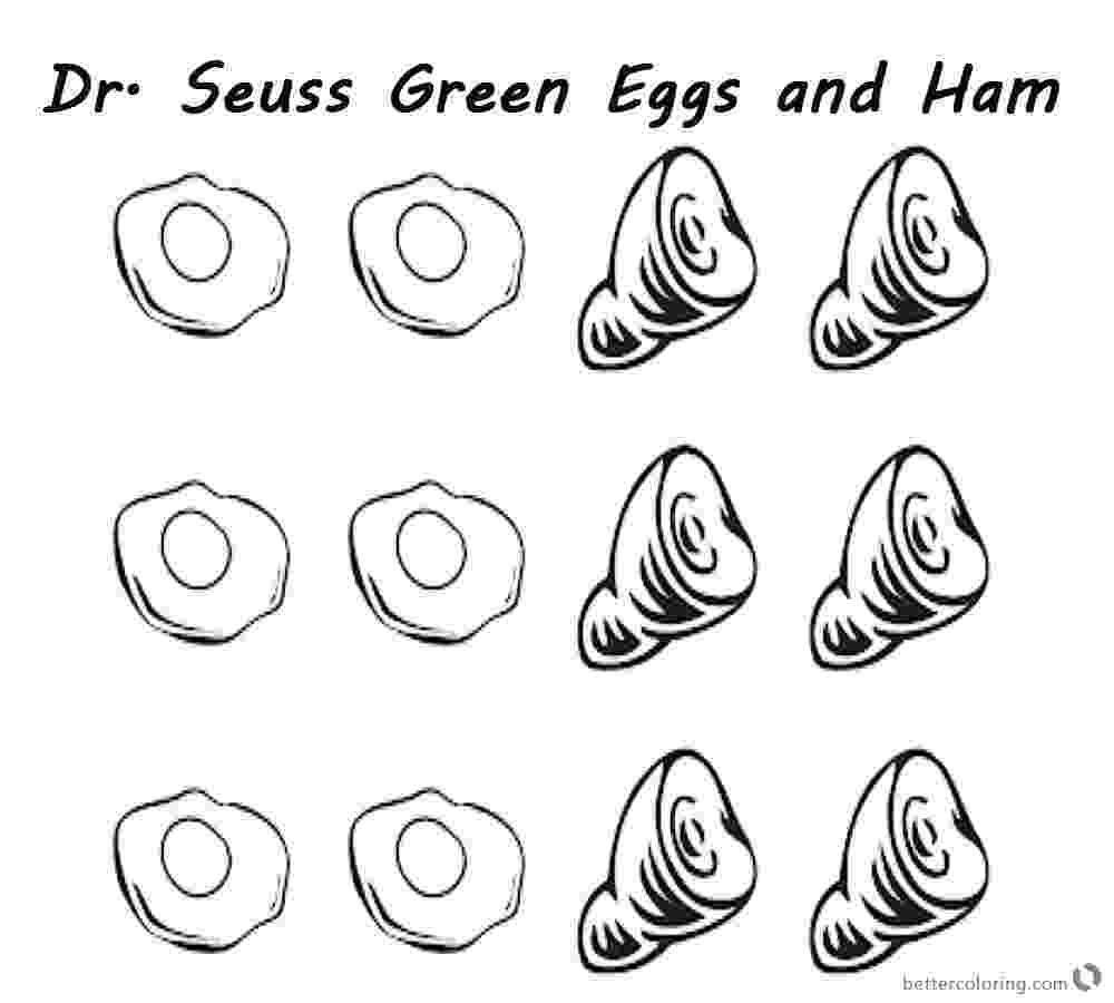 dr seuss coloring pages green eggs and ham green eggs and ham coloring pages various episodes k5 seuss dr coloring pages and eggs ham green