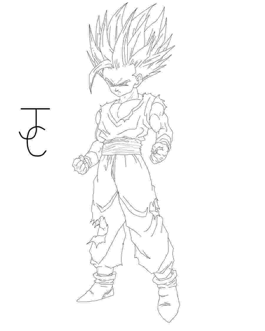dragon ball z coloring pages gohan gohan coloring pages coloring home z dragon ball pages gohan coloring