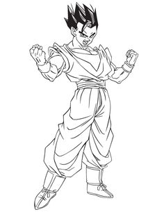 dragon ball z gohan coloring pages coloring fun gohan coloring dragon z gohan ball pages