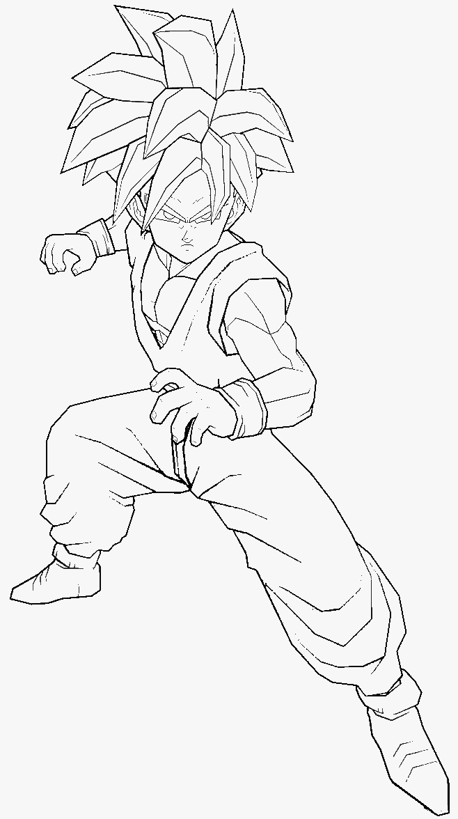 dragon ball z gohan coloring pages gohan tenkaichi colouring page by zostead on deviantart gohan z coloring pages ball dragon