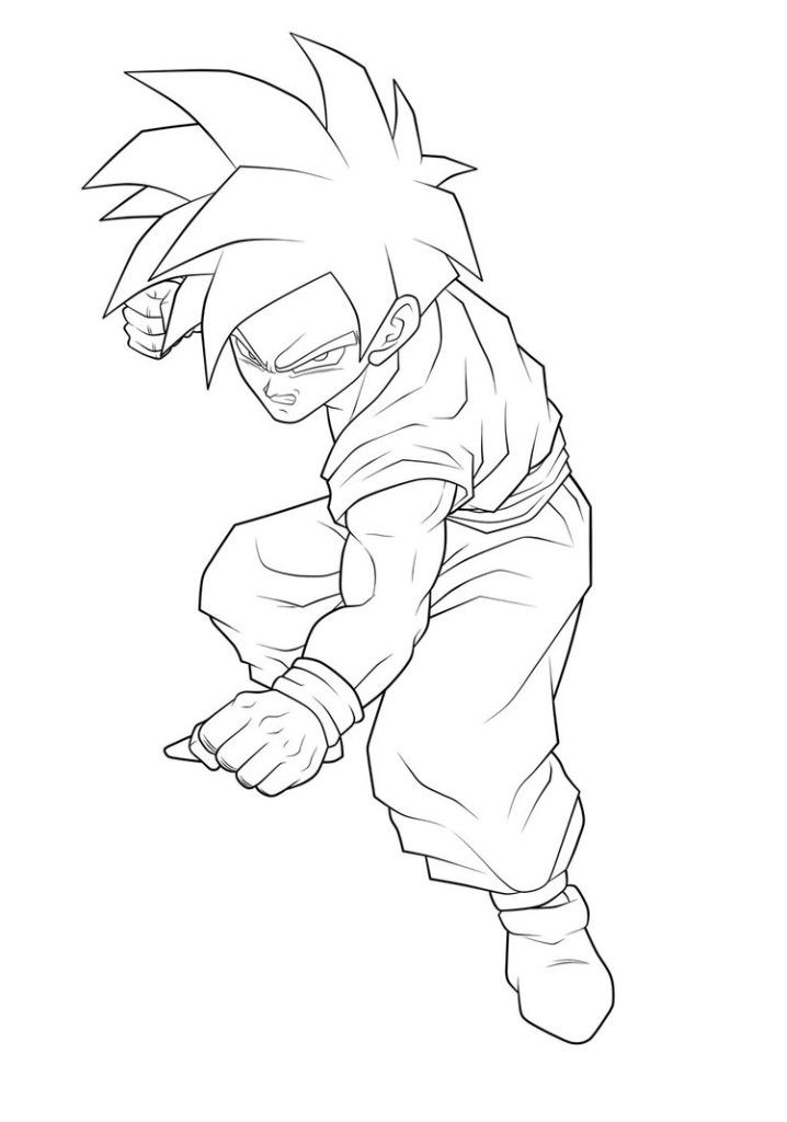 dragon ball z gohan coloring pages teen gohan kamehameha drawing sketch coloring page dragon gohan ball pages coloring z