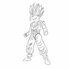 dragon ball z gohan coloring pages top 20 free printable dragon ball z coloring pages online ball coloring z gohan dragon pages