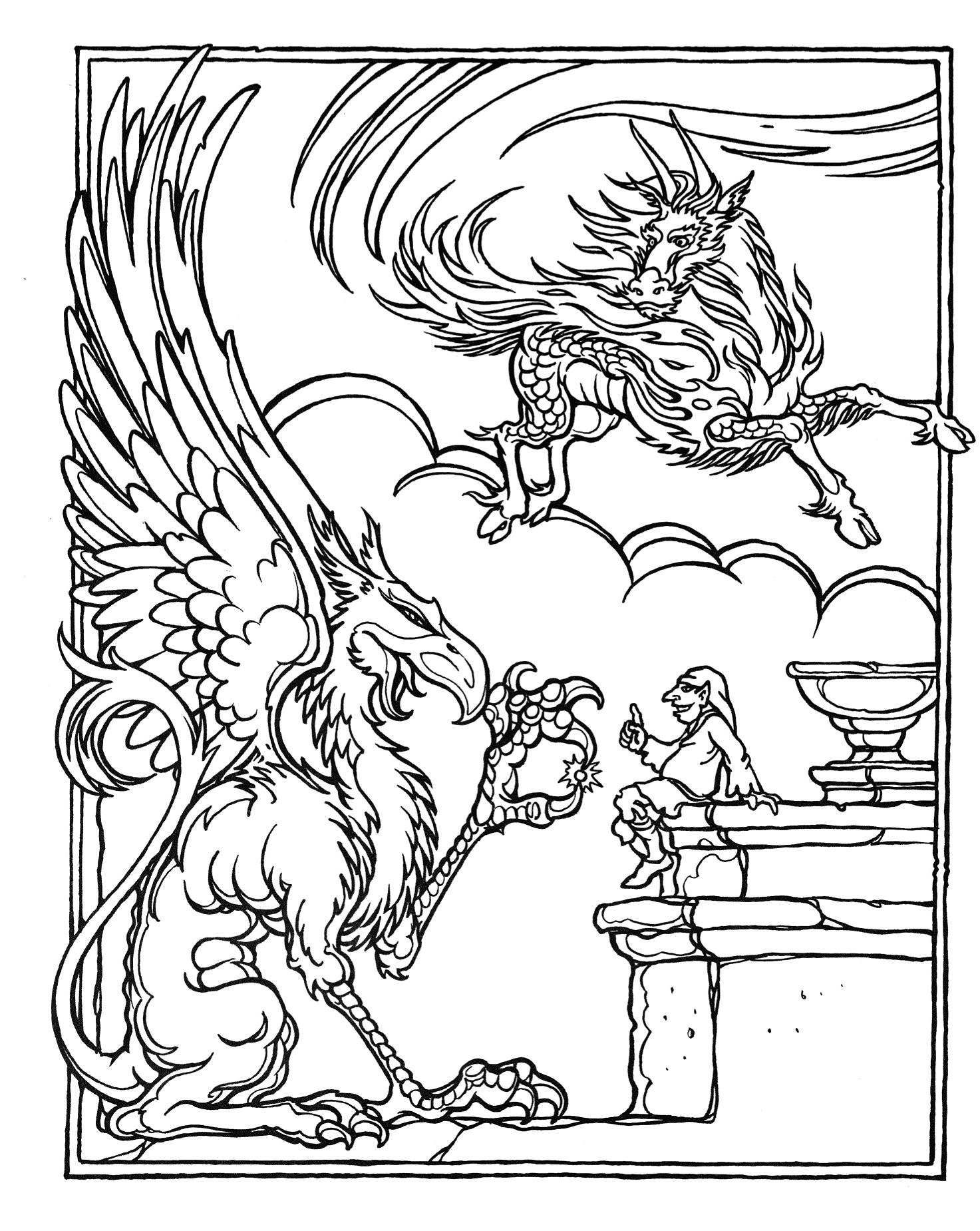 dragon coloring page coloring pages dragon coloring pages free and printable dragon coloring page