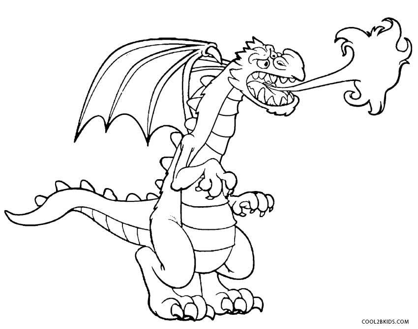 dragon coloring page printable dragon coloring pages for kids cool2bkids page dragon coloring