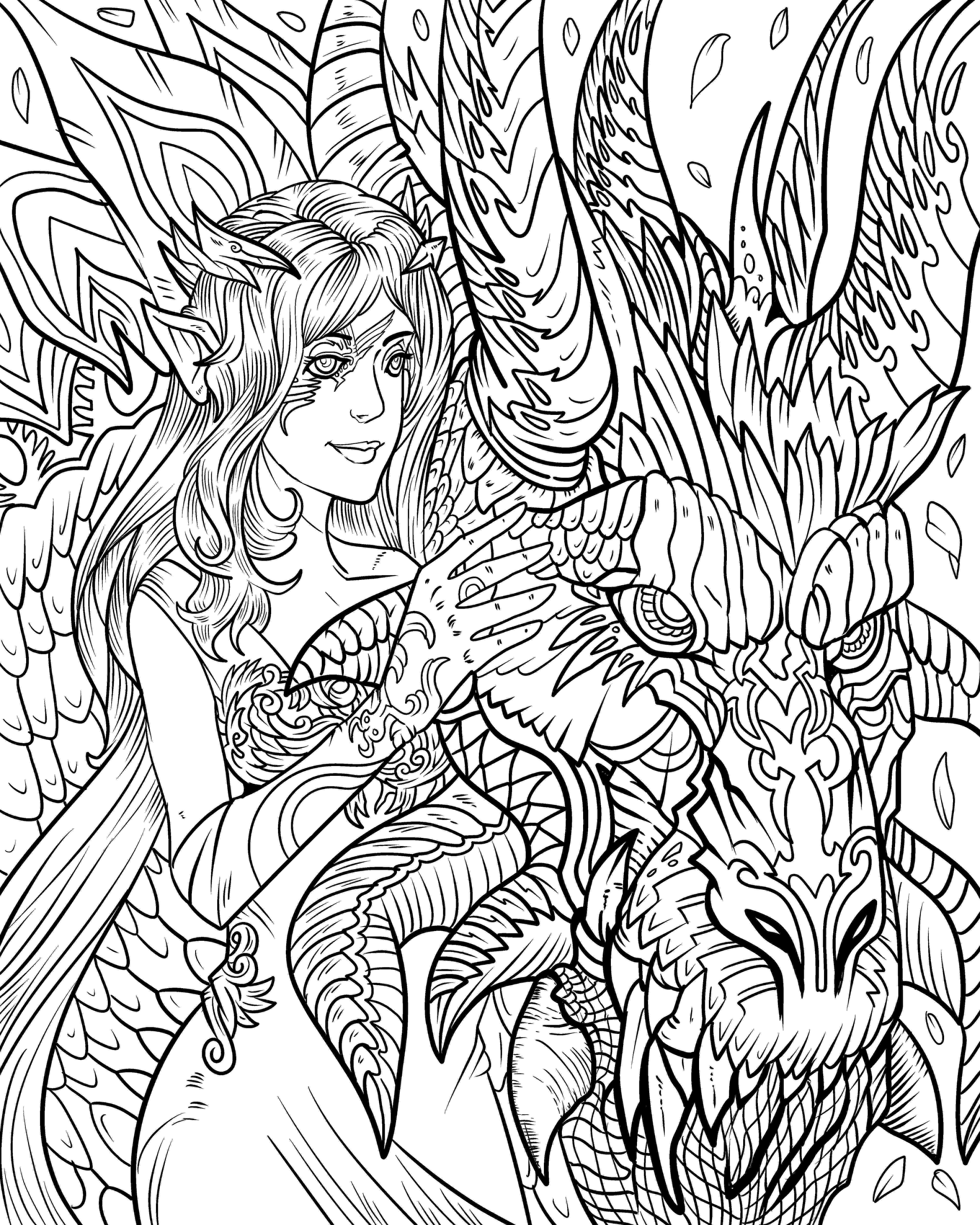 dragon coloring pages pdf dragon life adult coloring books nathaniel wake publishing coloring pages pdf dragon