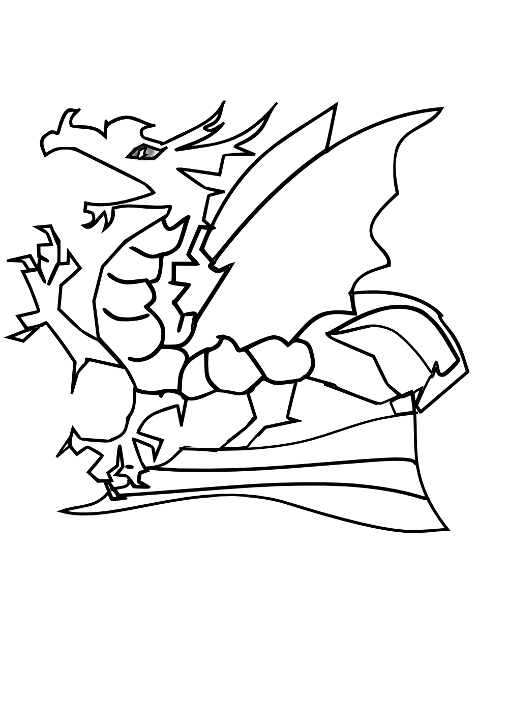 dragon images for kids color the dragon coloring pages in websites kids dragon for images