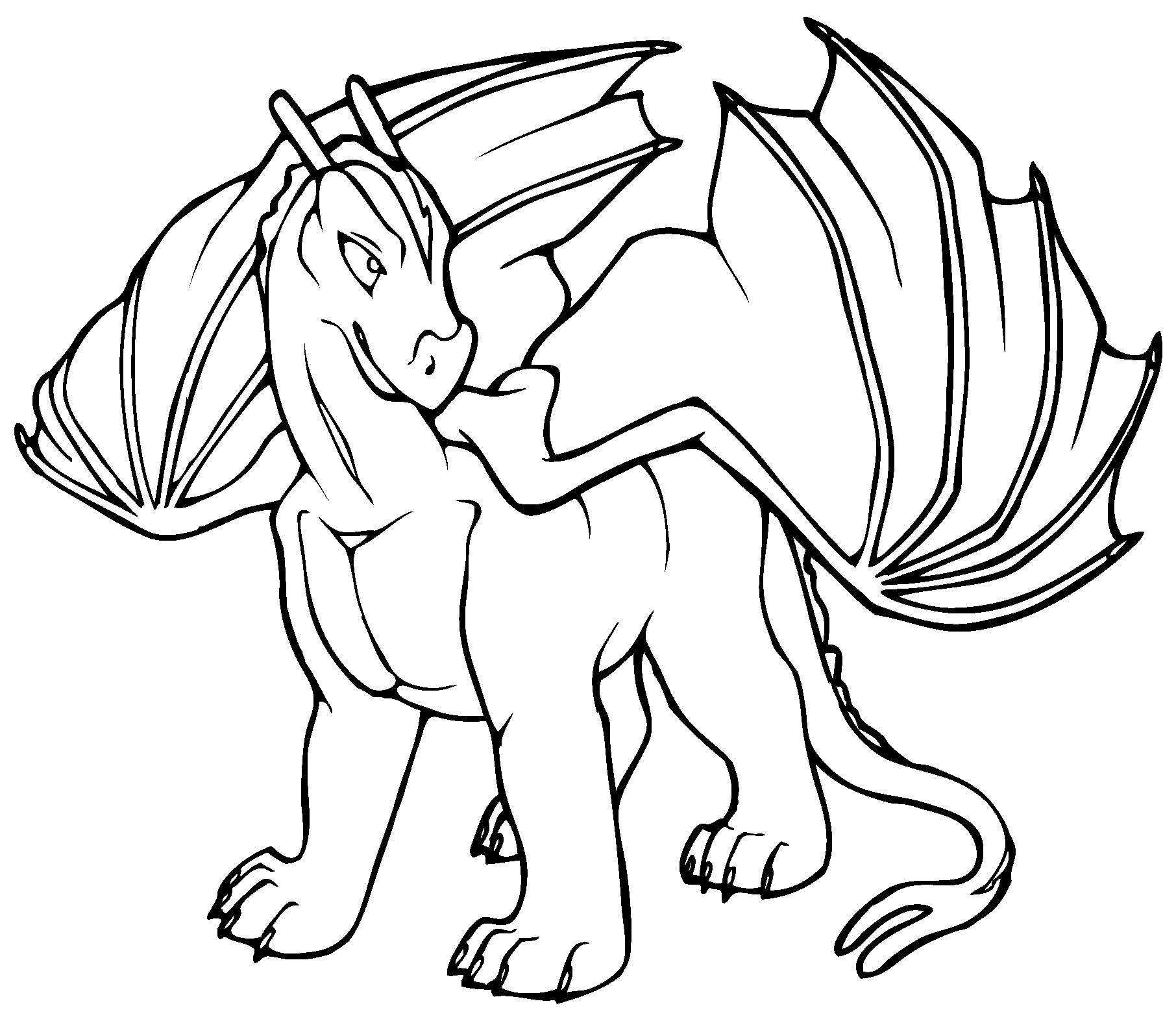 dragon images for kids free printable dragon coloring pages for kids lettas for images kids dragon