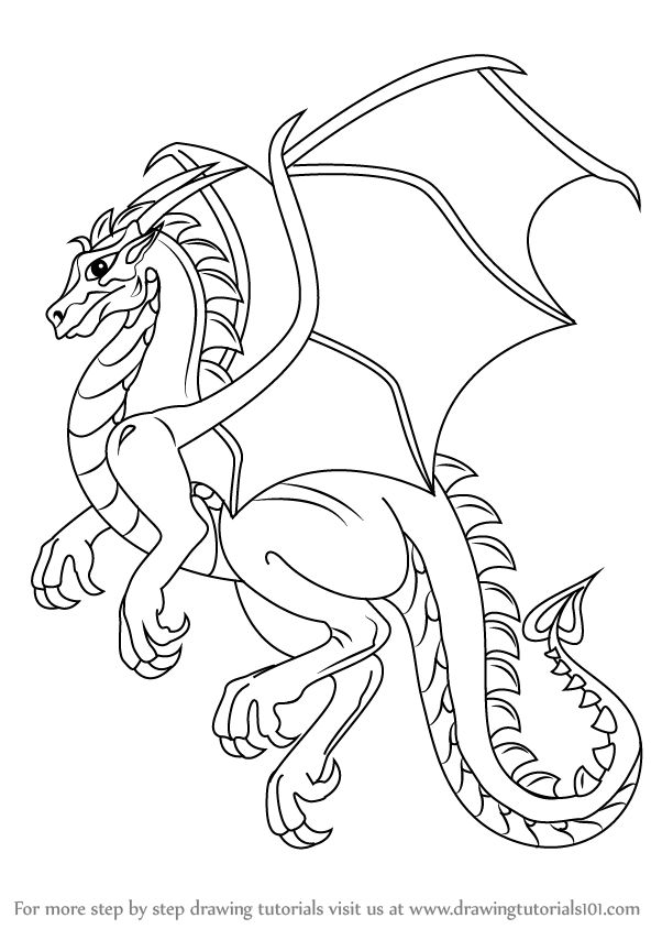 dragon pictures to trace coloring pages how to draw a dragonstep by step easy pictures dragon trace to