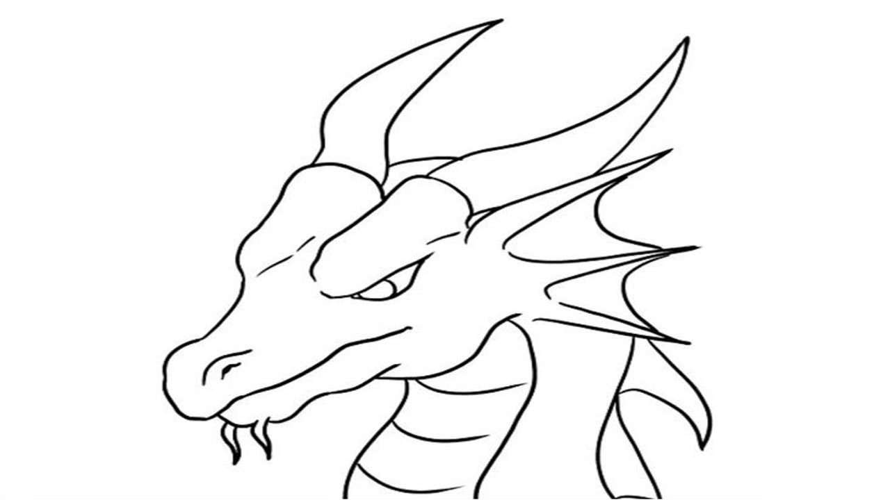 dragon pictures to trace how to draw a dragon head step by step dragons draw a to dragon pictures trace