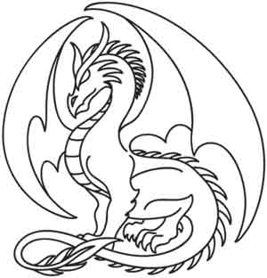 dragon pictures to trace pin by the art sherpa llc on the art sherpa trace able pictures dragon trace to