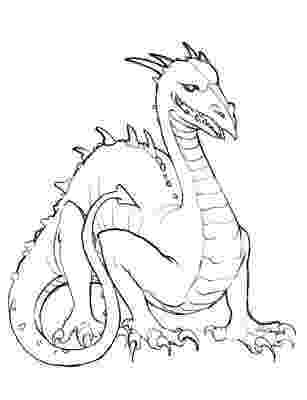 dragons to color cute dragon and chick coloring page free printable color dragons to