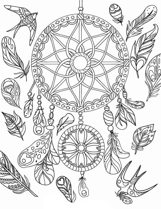 dream catcher coloring pages dream catcher coloring pages to download and print for free catcher pages coloring dream 1 1