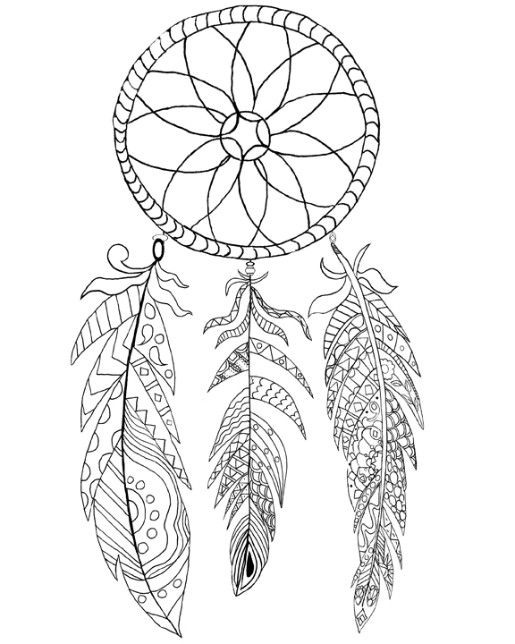dream catcher coloring pages dream catcher coloring pages to download and print for free coloring catcher pages dream