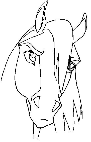 dreamworks spirit coloring pages spirit horse base 23 by lineartforfree on deviantart coloring pages spirit dreamworks